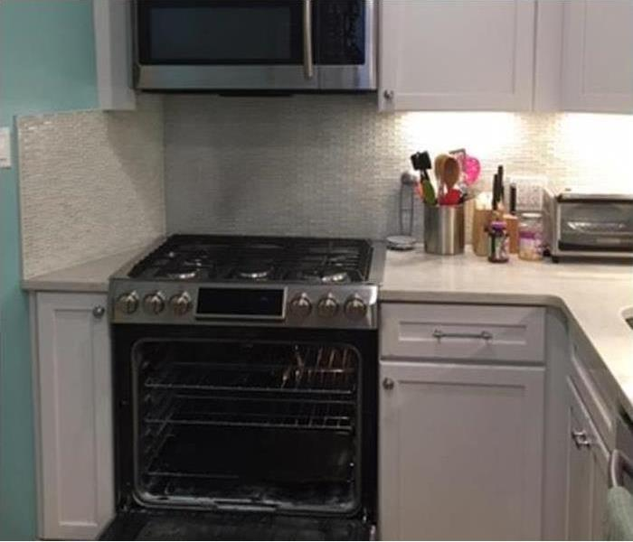 rebuilt kitchen after fire damage