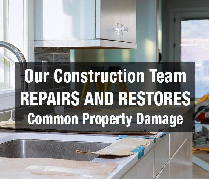 Building Services The SERVPRO of Medford Construction Team can help Repair and Restore these 5 Common Property Damage Areas