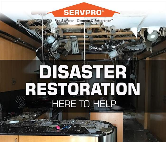Storm Damage SERVPRO is here to help Suffolk County with Property Disaster Restoration Services following Roof Leaks and other property damage.
