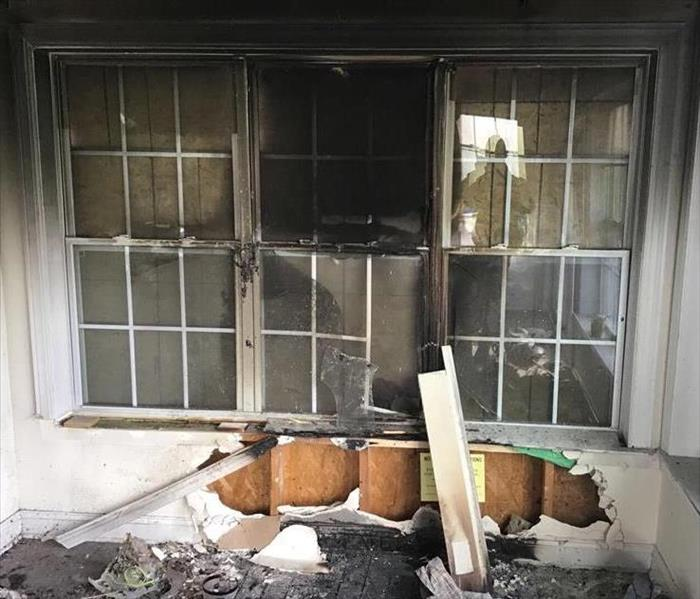 Fire Damage SERVPRO Professionals Offer Quality Fire and Smoke Damage Cleanup, Restoration and Reconstruction Services