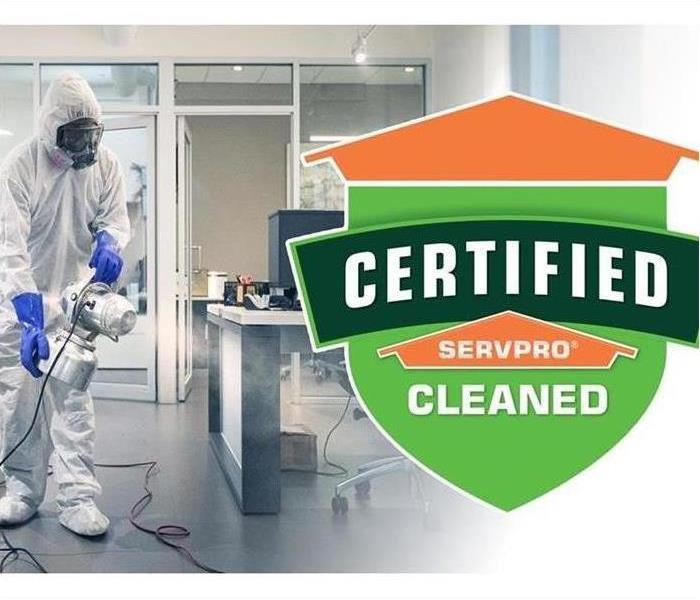 commercial disinfecting helping to lower the risk of pathogens