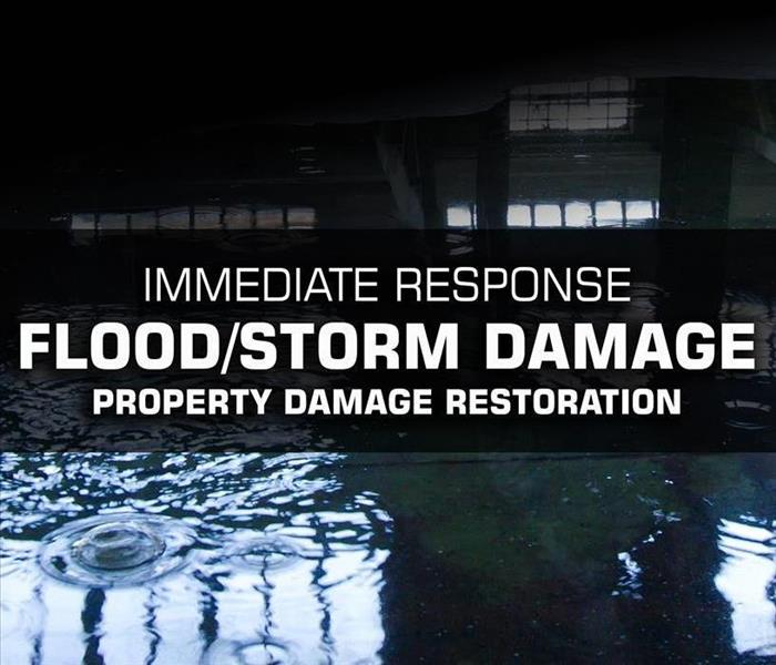 Storm Damage SERVPRO of Medford Responds to Flood or Storm Water Property Damage Immediately