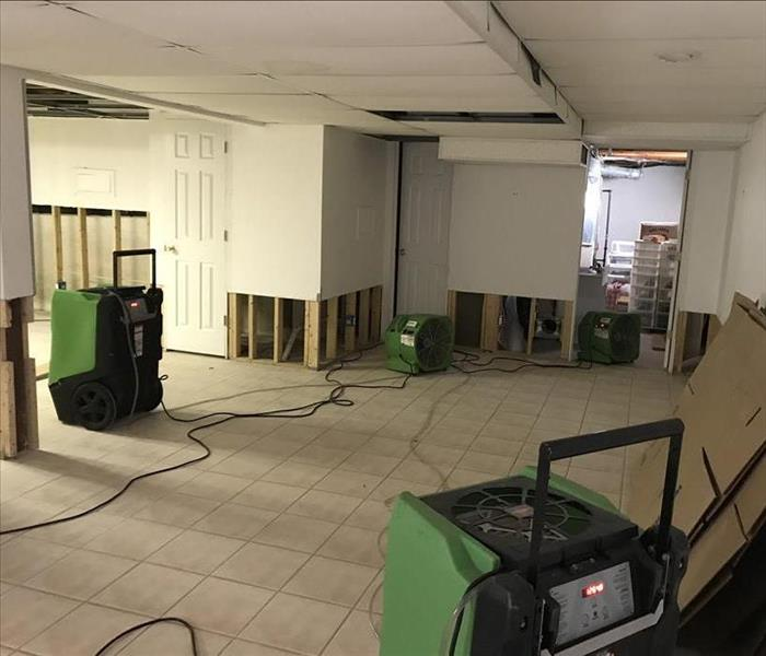 Water Damage Basement Water Damage Cleanup, Mitigation and Disaster Restoration Services Suffolk - Long Island, New York