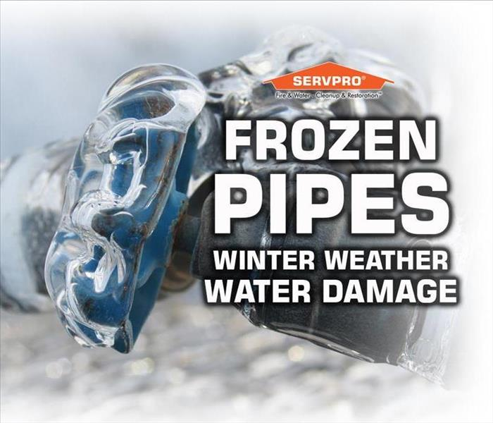 Water Damage Frozen Pipes: A Winter Water Damage Emergency