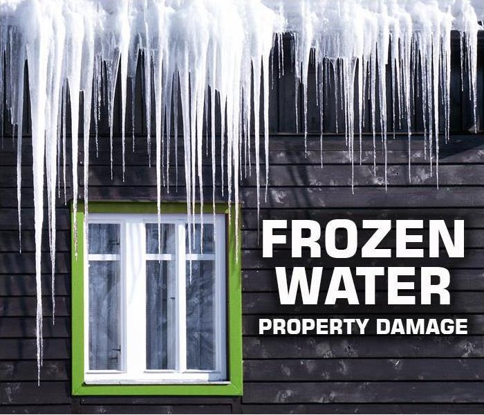 Water Damage SERVPRO of Medford professionals specialize in the cleanup and restoration of your Long Island property after frozen water damage.
