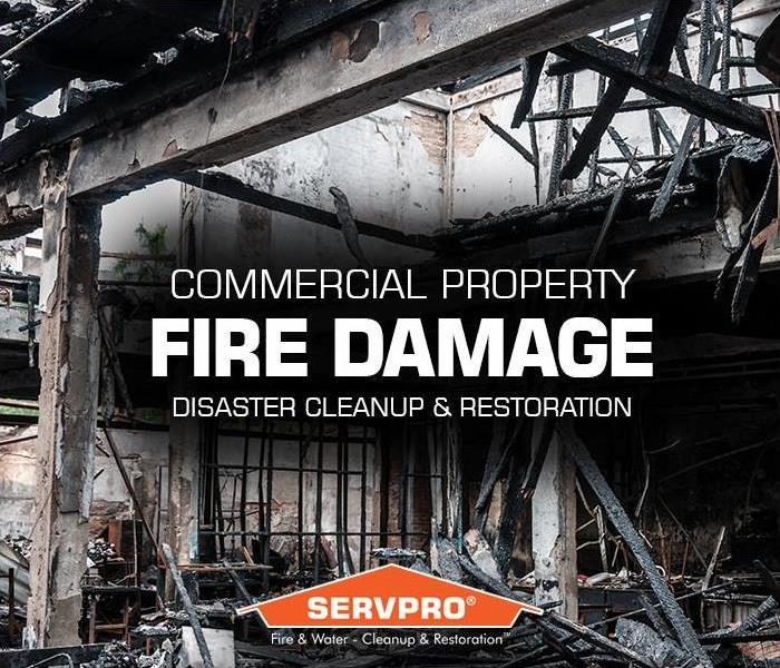 fire damage to commercial property