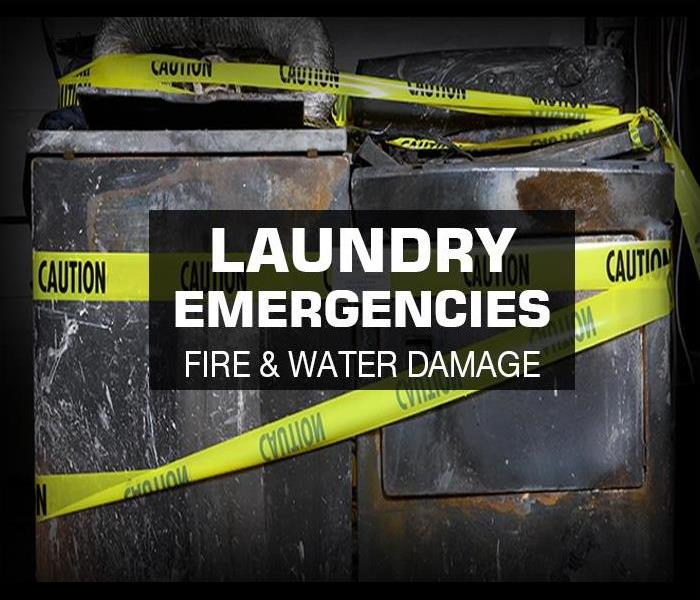 Fire Damage Fire and Water Damage in your Laundry Room can cause serious damage to your home.